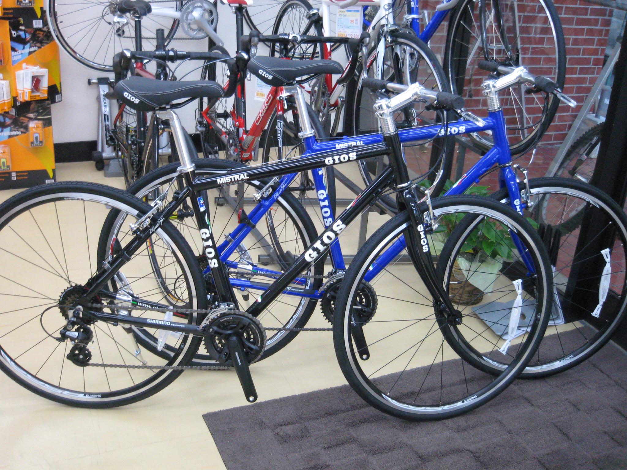 自転車の 自転車 フォーク アルミ クロモリ : GIOS MISTRALの2011年モデルが入荷 ...