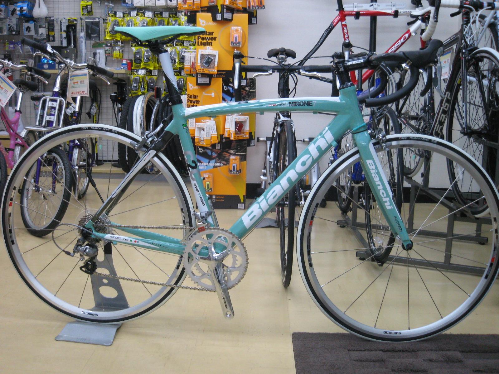自転車の ビアンキ 自転車 中古 : ビアンキのVia Nirone 7 Alu 105 2011 ...