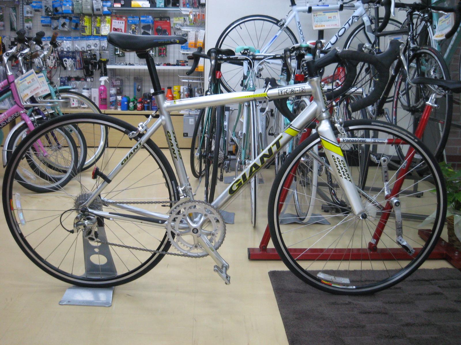 自転車の 自転車 フォーク アルミ クロモリ : GIANTの中古ロードバイクTCR-2が ...
