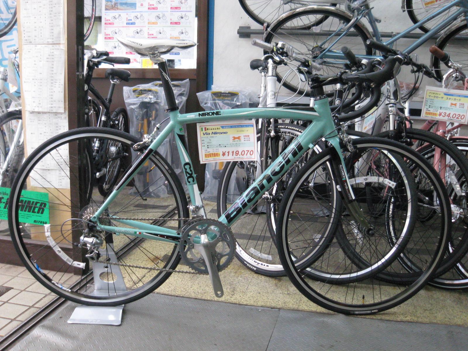 自転車の 自転車 クラブモデルとは : VIANIRONE 105モデルとTIAGRAモデル ...